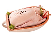Kačica hlbokozmrazená 1 kg