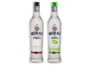Nicolaus Extra Jemná Vodka 38% 0,7 l Fine Lime Vodka 38% 0,7 l