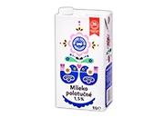 Mlieko trvanlivé polotučné 1,5% 1 l
