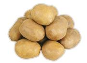 Zemiaky konzumné žlté neskoré prané 2,5 kg