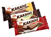 Kakaové rezy 3 druhy 50 g