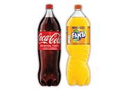 Coca-Cola 2,25 l Fanta orange 2,25 l
