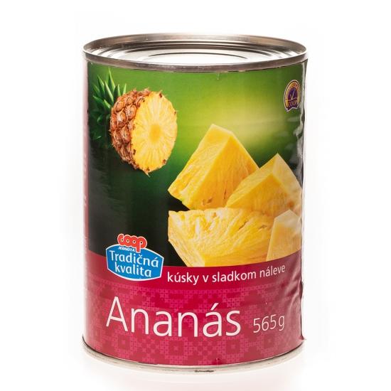 Ananás v slad. náleve 567g