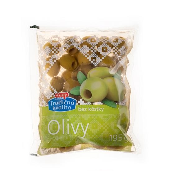 Olivy zelené bez kôstky 195g