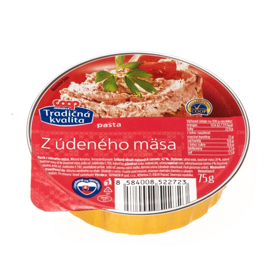 Pasta z údeného mäsa 75g
