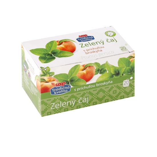 Zelený čaj s prích. broskyňa 30g