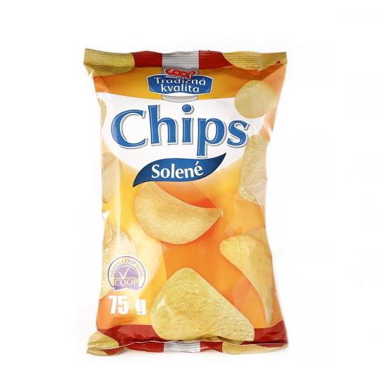 Chipsy solené 75g