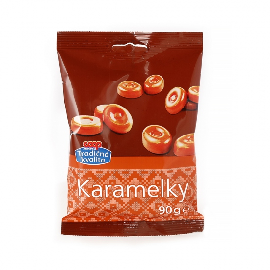 Karamelové cukríky 90g