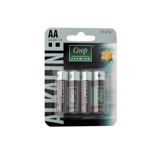 Batérie alkalické LR6 AA 4ks