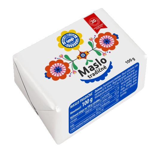 Maslo tradičné 100 g
