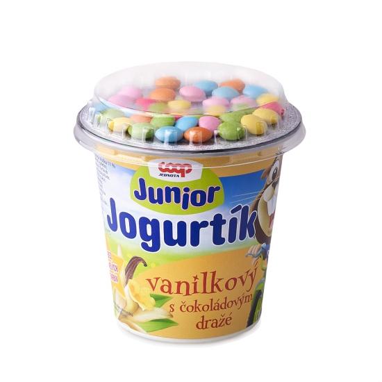 Jogurtík s čokoládovým dražé