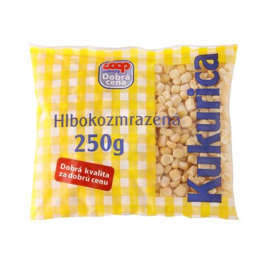Hlbokozmrazená kukurica 250g