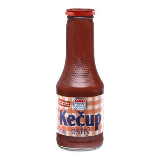 Kečup ostrý 500g