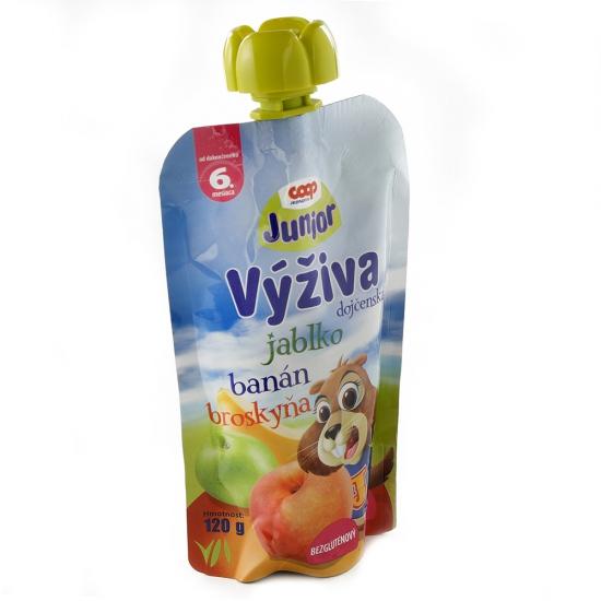 Výživa dojč. jablko,banán.,bros. 120g