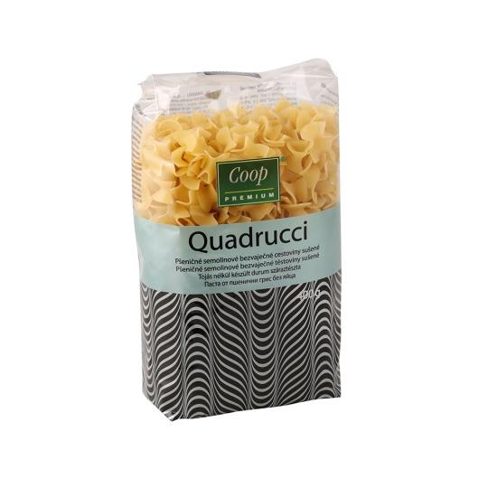 Cestoviny semolinové fliačky - Quadrucci 400g