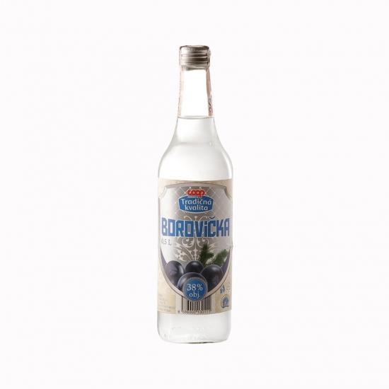 Borovička 38% 0,5l