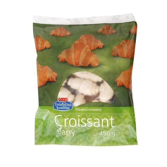 Croissant slaný hlbokozmrazený 450g