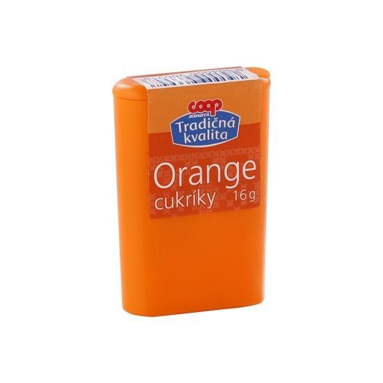 Cukríky orange 16g
