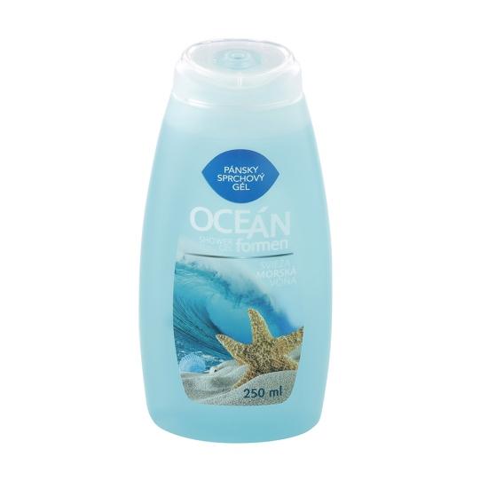 Gél sprchovací for men Ocean 250ml