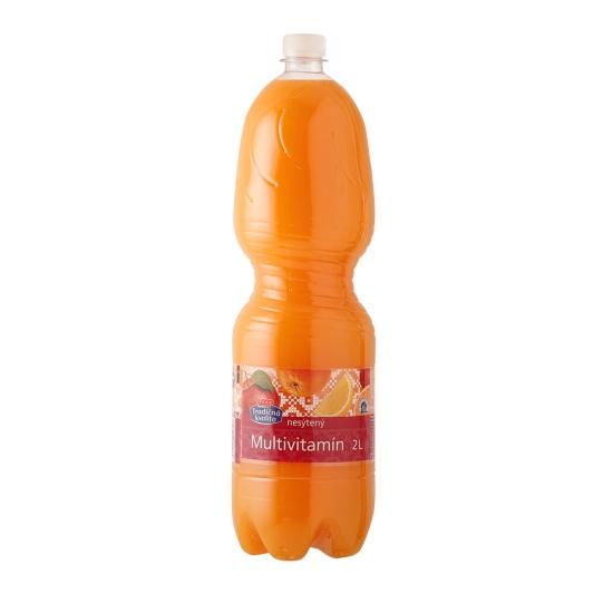Multivitamín ovocný nesýtený nápoj 12,5% 2L
