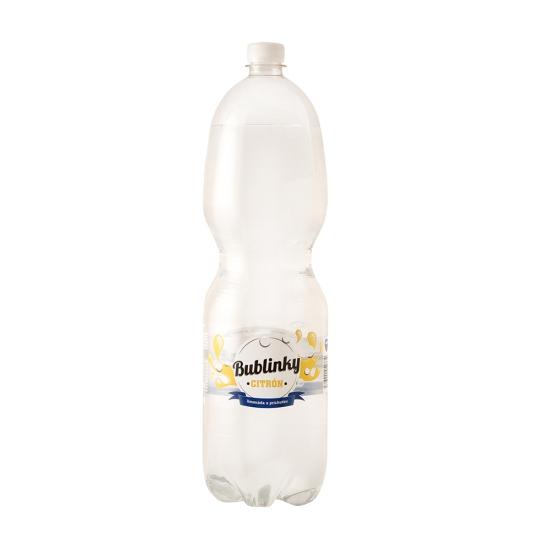 Bublinky s príchuťou citrón 2L