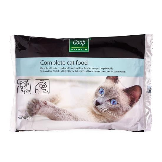 Krmivo pre mačky 4x100g