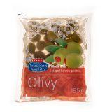 Olivy zel. s paprik. pastou 195g